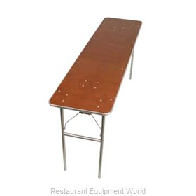 PS Furniture HO2496 Folding Table, Rectangle