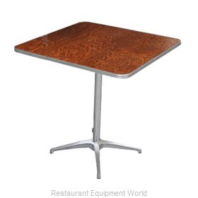 PS Furniture HO3030-SK Table, Indoor, Dining Height