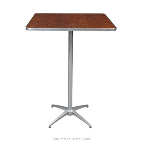 PS Furniture HO3030SQ-SKADJ Table Adjustable Height Indoor (Magnified)