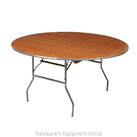 PS Furniture HO66DI Folding Table, Round