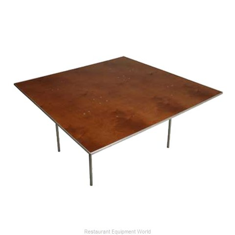 PS Furniture HO7272 Folding Table Square