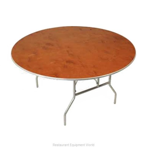 PS Furniture HO72DI Folding Table, Round