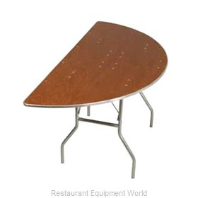 PS Furniture HOSC36 Folding Table, Round