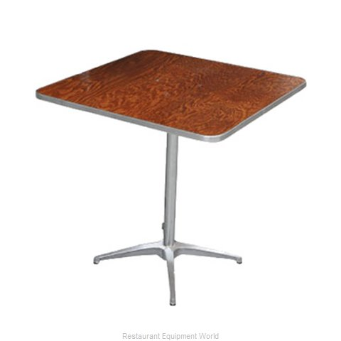 PS Furniture HOTRI36-SKADJ Table Adjustable Height Indoor