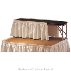 PS Furniture LM1272B-SB Table Riser
