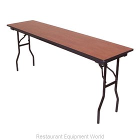 PS Furniture LS302496 Folding Table, Rectangle