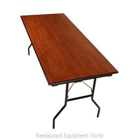 PS Furniture LS303072-MX Folding Table, Rectangle