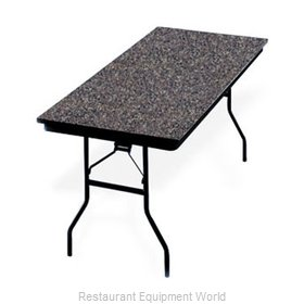 PS Furniture LS303096 Folding Table, Rectangle