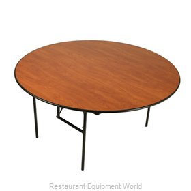 PS Furniture LS3060RD-MX Folding Table, Round