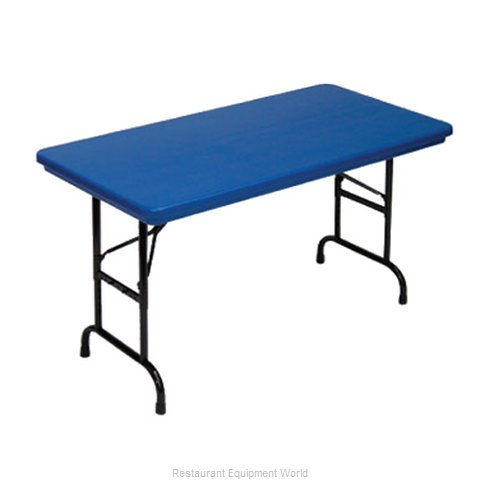 PS Furniture PB3060-PBADK Table Folding