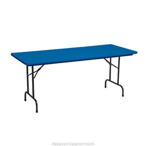 PS Furniture PB3072-PBADK Table Folding (Magnified)