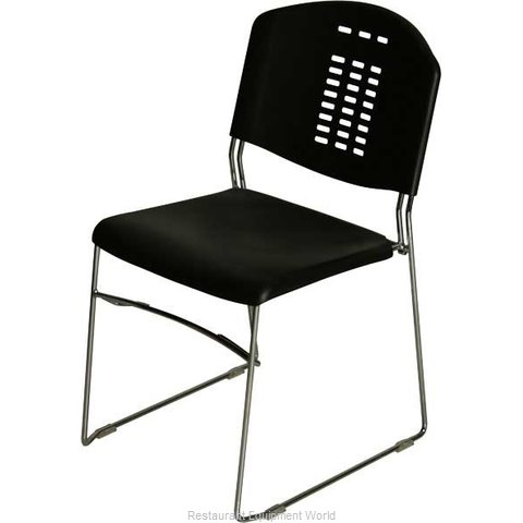 PS Furniture PC500-CH-BL-P Chair Side Stacking Indoor