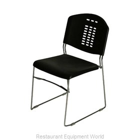 PS Furniture PC500-CH-P Chair, Side, Stacking, Indoor