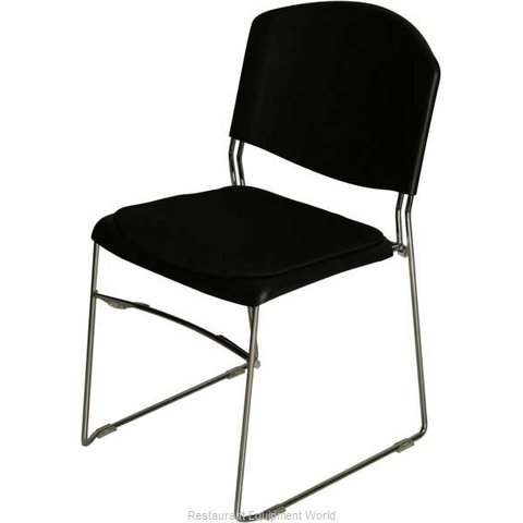 PS Furniture PC501CHBLSV39820 Chair Side Stacking Indoor