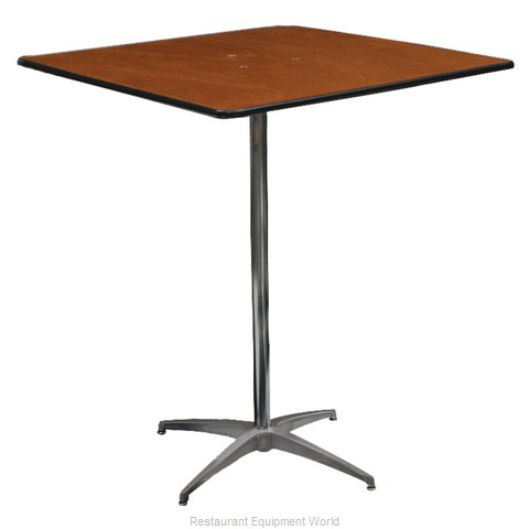 PS Furniture PD3030SQ-SK Table, Indoor, Dining Height