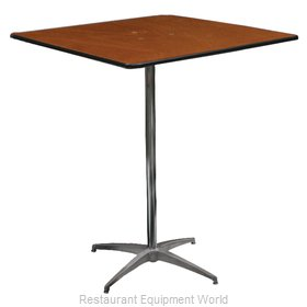 PS Furniture PD3030SQ-SK42 Table, Indoor, Bar Height
