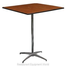 PS Furniture PD3030SQ-SKADJ Table, Indoor, Adjustable Height