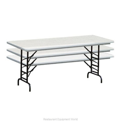 PS Furniture PT3072-AD Folding Table, Rectangle