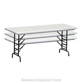 PS Furniture PT3072-ADK Folding Table, Rectangle