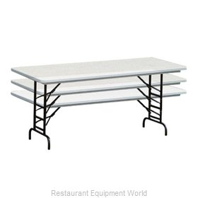 PS Furniture PT3096-ADK Folding Table, Rectangle