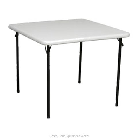 PS Furniture PT3636-PL Folding Table Square