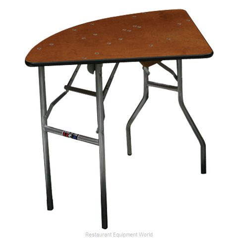 PS Furniture QT72 Folding Table, Round