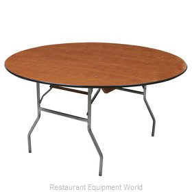 PS Furniture RD72DI Folding Table, Round