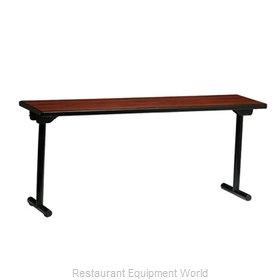 PS Furniture REV1872MXE-T Folding Table, Rectangle