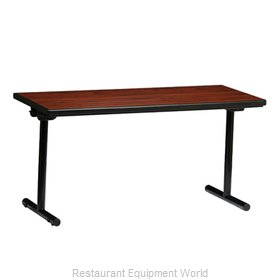 PS Furniture REV2448MXE-T Folding Table, Rectangle