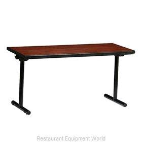 PS Furniture REV2496MXE-T Folding Table, Rectangle