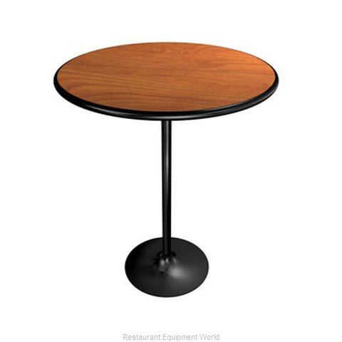 PS Furniture REV60RDMX-SQ Folding Table Round