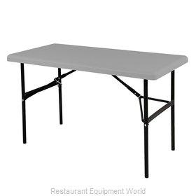 PS Furniture RS2472CC-CC Folding Table, Rectangle