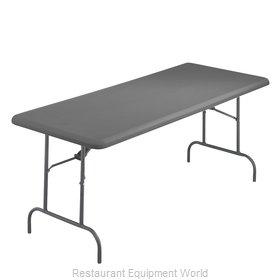 PS Furniture RS3072CC-CC Folding Table, Rectangle