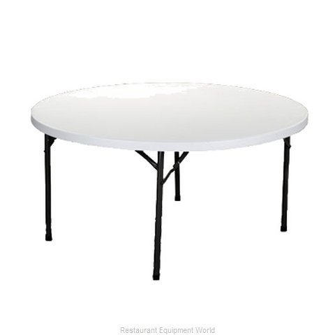 PS Furniture RS60RD Folding Table Round