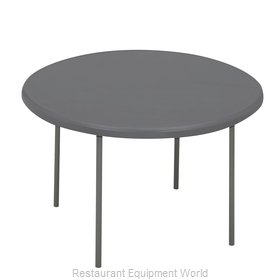 PS Furniture RS60RDCC-CC Folding Table, Round