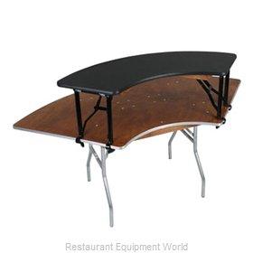 PS Furniture SBL3X8BIE Table Riser