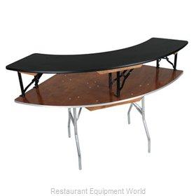PS Furniture SBL3X8BOE Table Riser