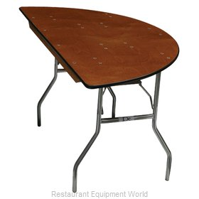 PS Furniture SC36 Folding Table, Round