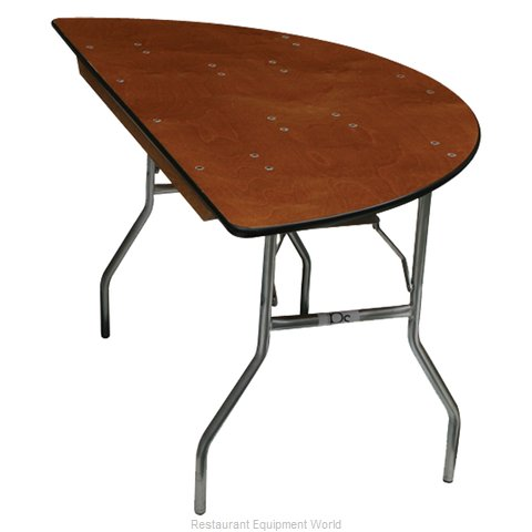 PS Furniture SC60 Folding Table, Round