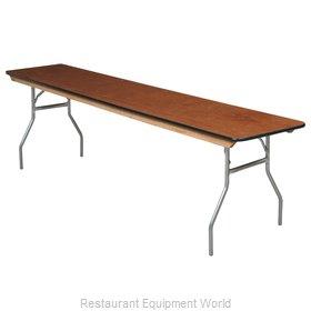 PS Furniture SM2496 Folding Table, Rectangle