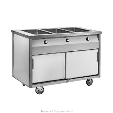 Randell 14G HTD-3S Serving Counter Hot Food Steam Table Electric
