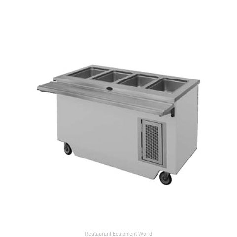 Randell 14GFG HTD-4 Serving Counter Hot Food Steam Table Electric