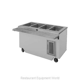 Randell 14GFG HTD-6S Serving Counter Hot Food Steam Table Electric