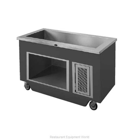 Randell 14GFG IC-4S Serving Counter Cold Pan Salad Buffet