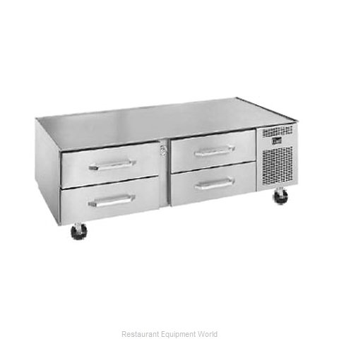 Randell 20072SC-C4 Refrigerated Counter Griddle Stand