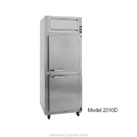 Randell 2010D Reach-In Dual Temp Cabinet self-contained