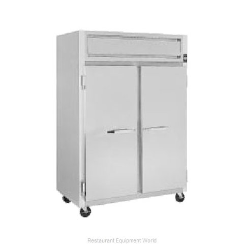 Randell 2020P Pass-Thru Refrigerator 2 sections