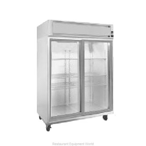 Randell 2021E Reach-in Refrigerator 2 sections