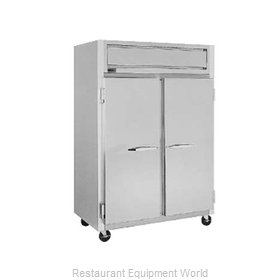 Randell 2021P Pass-Thru Refrigerator 2 sections