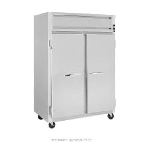 Randell 2420E Reach-In Heated Cabinet 2 section
